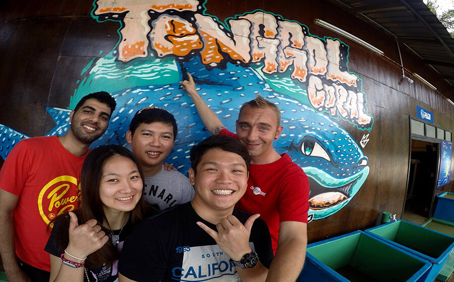 Learning To Dive Tenggol PADI Dive Courses